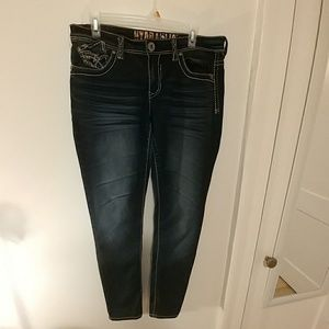 Hydraulic Bailey Super Skinny Jeans